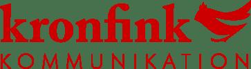 Logo Kronfink-Kommunikation
