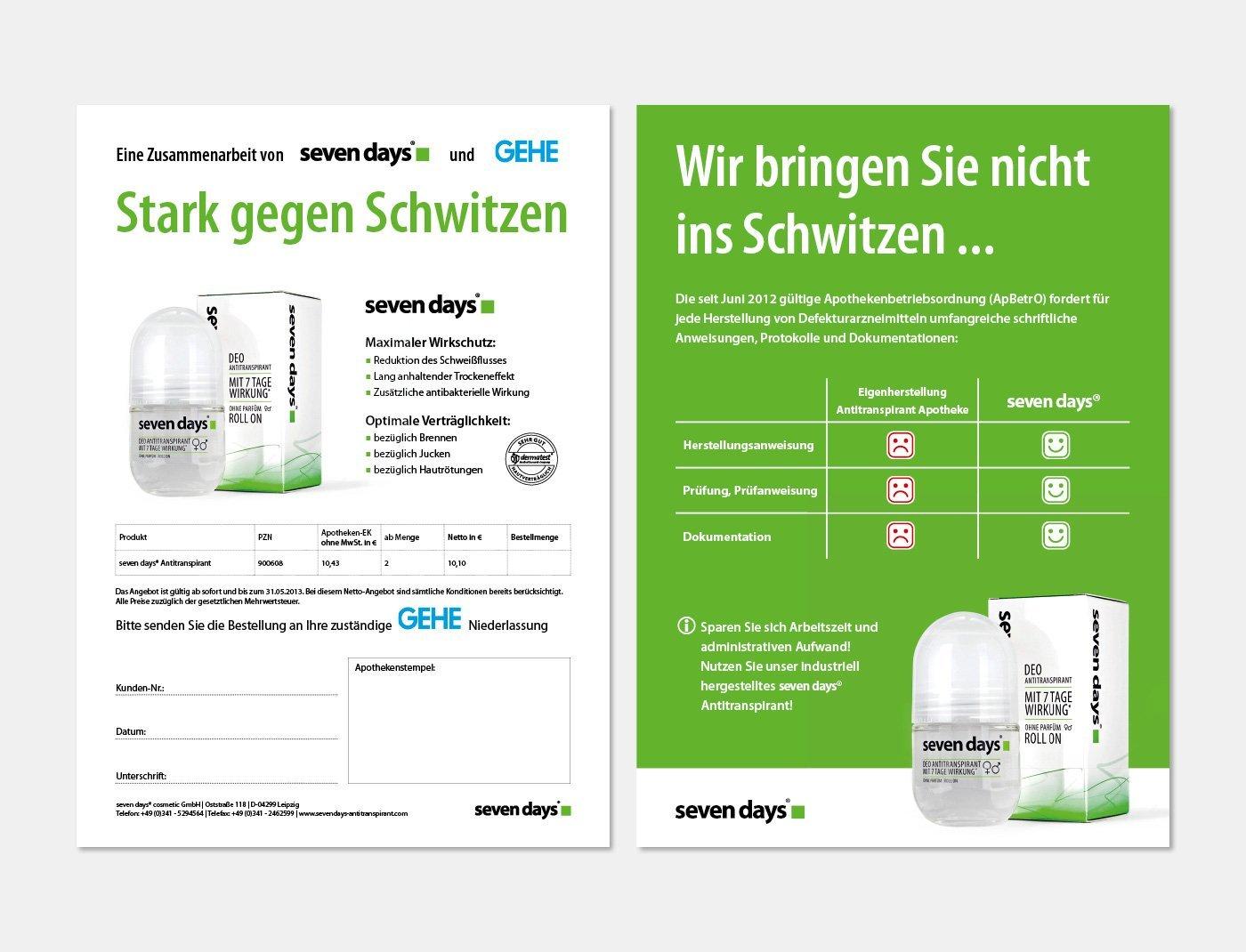 Sevendays Beileger Kronfink Kommunikation Werbeagentur Leipzig