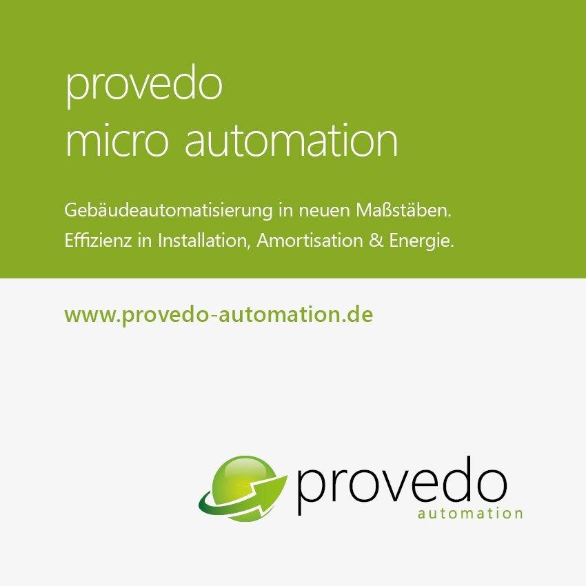 Anzeige Provedo Automation